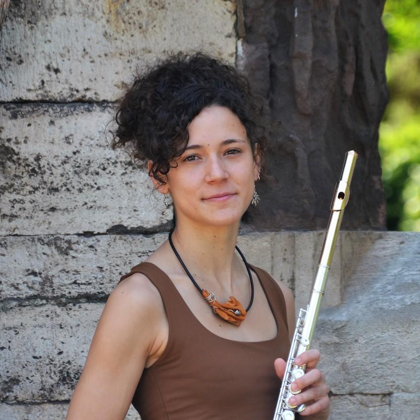 Fátima Jiménez. Profesora de flauta.