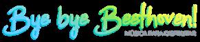 Logo Campamento musical Bye Bye Beethoven