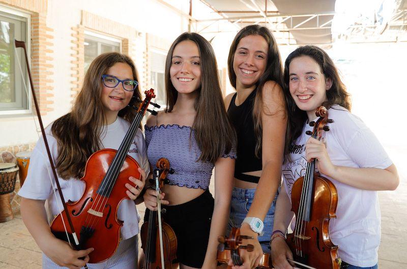 Alumnas sección cuerdas