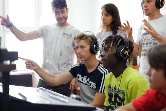 Clases de Produccion Musical en Campamento Bye Bye Beethoven