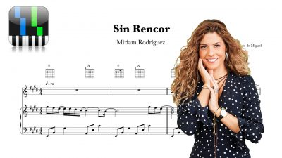 Sin Rencor Miriam Rodriguez Partitura